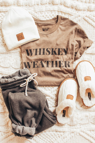 Whiskey Weather Graphic Tee
