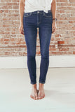 Flying Monkey Amber Mid-Rise Cuffed Skinny Jean
