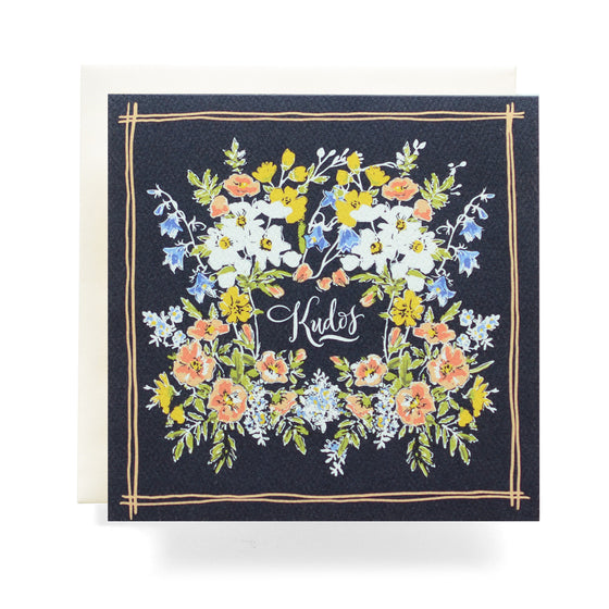 Antiquaria - Handkerchief Kudos Greeting Card