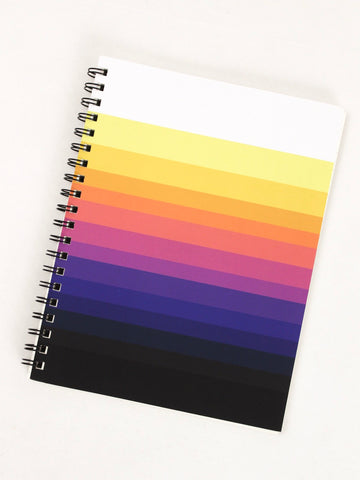 Denik Faded Stripes Lined Notebook