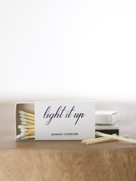 Sunday Forever Light It Up Matches