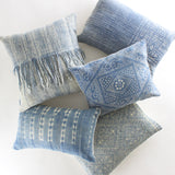 The Indigo Throw Pillow Collection