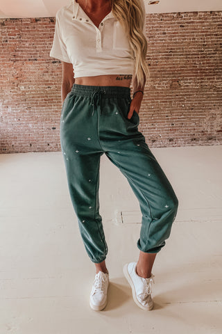 Super Soft Embroidered Sweatpants