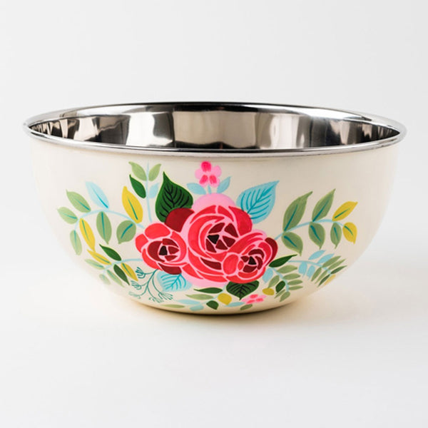 Floral Bowl or Tray