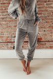 Women's grey loungewear sets.