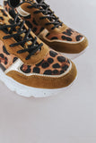 Leopard Speckled Sneakers