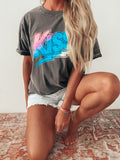 Gradient KISS Graphic Tee
