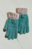 Women's winter gloves.