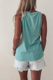 The Cotton Slub Scoop Neck Tank