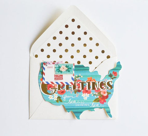 Choose Your State Greetings Card