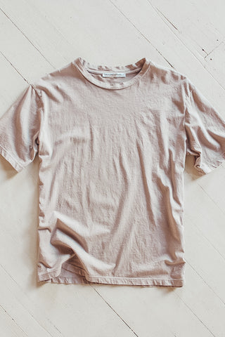 Organic cotton t-shirt.