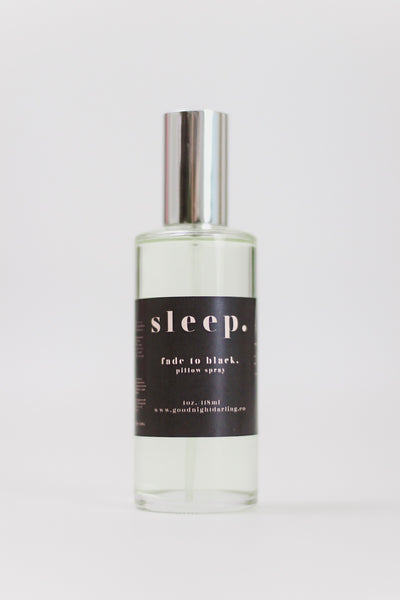 Goodnight Darling Co. Black Lavender Room Spray & Fade to Black Pillow Spray