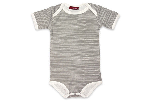 Milkbarn One Piece GREY STRIPE