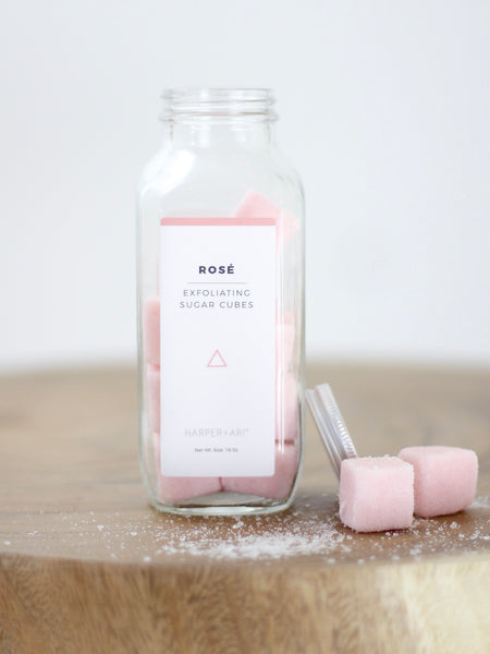 Exfoliating Sugar Cubes