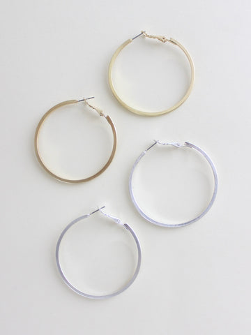 Flavia Hoop Earrings