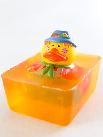 Scarecrow Toy Duck Soap