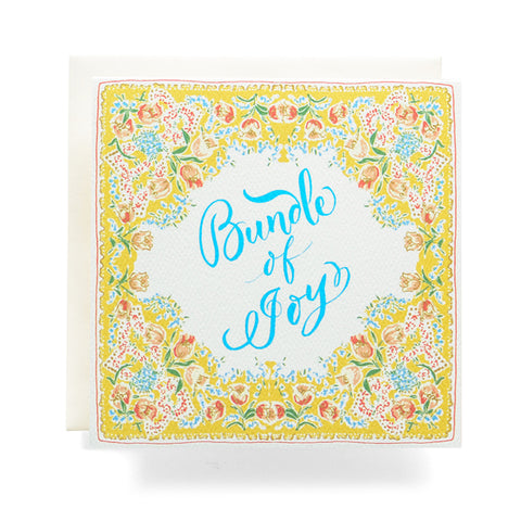Antiquaria - Handkerchief Bundle Of Joy Greeting Card