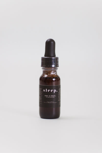 Goodnight Darling Co. Fade to Black Herbal Tincture