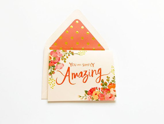You Are Simply Amazing Any Occasion Card