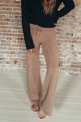 The Kidman pant. Super soft and cozy sweater like lounge pants.