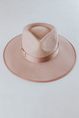 Mauve Rancher Hat