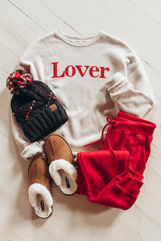 Lover Valentines Day sweatshirt.