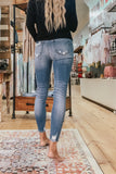 Hidden Amelia High Rise Distressed Skinny Jean