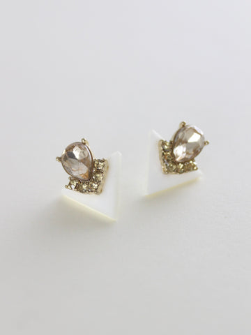 Hedda Geometric Stud Earrings