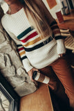 Pendleton Glacier Stripe Merino Sweater