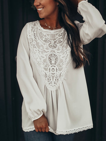 Crochet Detailed Blouse