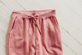 Worlds Best Joggers - Heather Pink