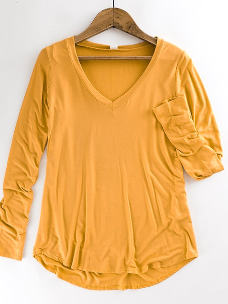 Long Sleeve Layering Top