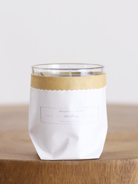 Magnolia Home Candle Collection - Restore