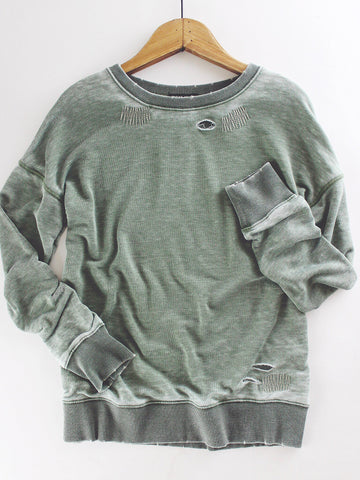 Reed Burnout Pullover