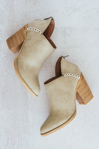 The MIIM Paradise Low Ankle Bootie