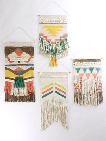 Wanderlust Hand-Woven Wall Hanging Collection