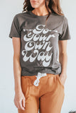 Go Your Own Way Graphic Tee