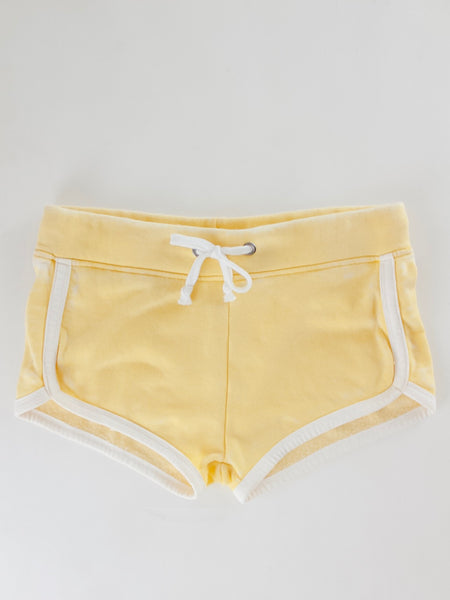 Burnout piping trim shorts