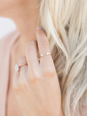 Katie Dean Two Gem Ring