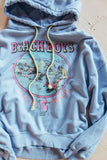 The Beach Boys Licensed US '80 Tour Oversized Hoodie