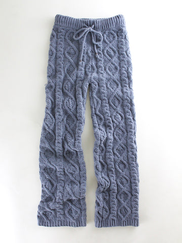 Cozy Cable Knit Pajama Pants