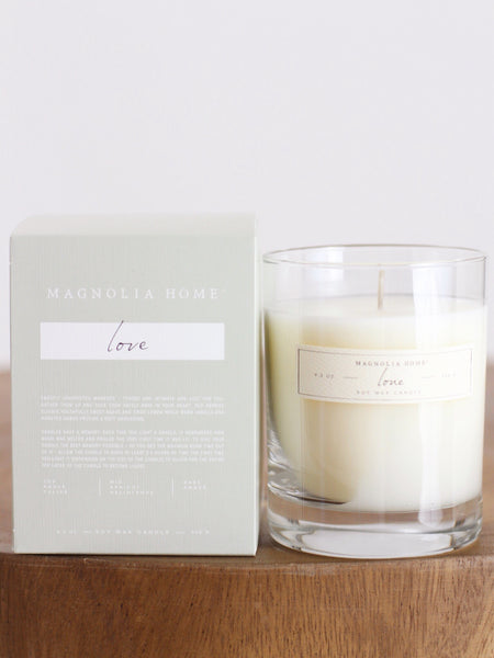 Magnolia Home Candle Collection - Love