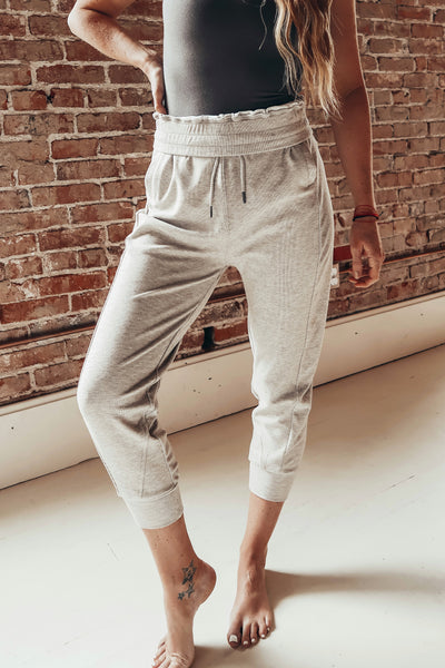 Super soft womens jogger pants.