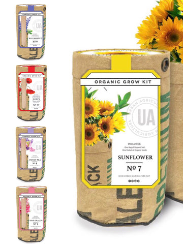 Urban Agriculture Flower Grow Kit