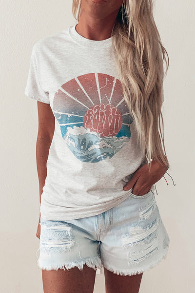 Waves + Faith Graphic Tee