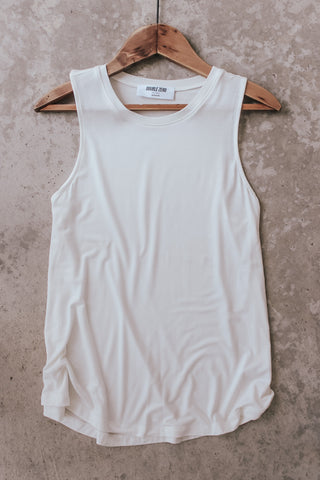 Basic Crew Neck Tank Top