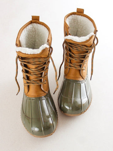 Sherpa Lined Duck Boots