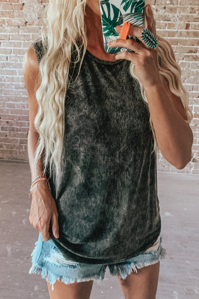 Mineral Dyed Tank Top