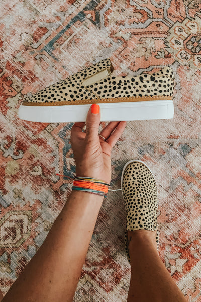 Animal spot slip on shoe.
