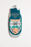 Pendleton No Show Liner Socks - Light Blue